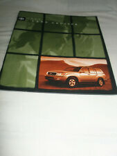 Toyota Land Cruiser range brochure 1999 USA market