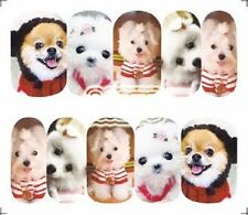 Nail Art Decals Transfers Stickers Corgis Scottie Dogs (A-1275)