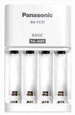 NEW Genuine Panasonic BQ-CC51 Battery Quick Charger for eneloop AA AAA Ni-MH