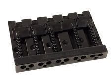Black OMEGA High Mass Badass V Style 5-string Bass Guitar Bridge BB-3360-003