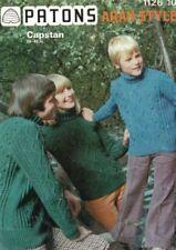 Unbranded Aran Crocheting & Knitting Patterns