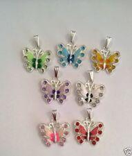 Butterfly Rhinestone Fashion Necklaces & Pendants