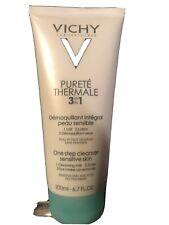 Vichy Purete Thermale 3 In 1 One Step Cleanser, Sensitive Skin, 6.7 fl oz.