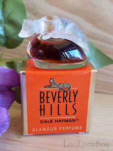 GLAMOUR by Gale Hayman Beverly Hills .10 oz. MINI Perfume Vintage NOS with Box