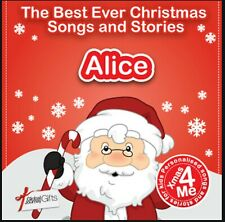 ALICE - THE BEST EVER CHRISTMAS SONGS & STORIES PERSONALISED CD