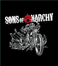 "Sons Of Anarchy Reaper Blanket- Soft Plush Thick, Queen Size 79""X94"" Reaper on M"