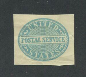 1887 United States Postal Stationary #UO16 Mint Cut Square