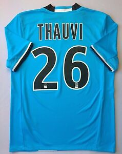 Thauvin Olympique Marseille Jersey 2016 Third 13-14 y Youth Shirt Adidas ig93
