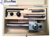 62mm Boring Head Set with tools R8 shank Flycutter Metalworking Milling Welding