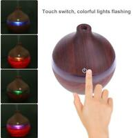 200ML Wooden Grain Aromatherapy Essential Oil Diffuser Ultrasonic Air Humidifier