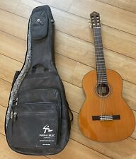 More details for yamaha cg162c classical guitar with gig case used