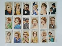 Stars Of Screen & Stage (Set of 48) Gallaher Tobacco 1935