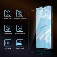 For Huawei P30 ELE-L29 3D Curved Full Cover 9H Tempered Glass Screen Protector