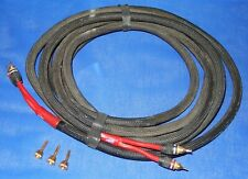 15 FT MONSTER Z SERIES SPEAKER CABLE - BANANA PLUGS - 12 GAUGE WIRE