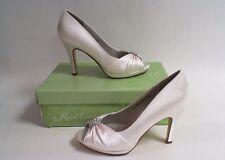 Liz Rene Wedding Shoes Jacqueline Silk White 775m Us 6m Uk
