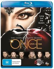 Once Upon A Time : Season 6 (Blu-ray, 2017, 5-Disc Set)