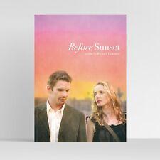 Before Sunset (Richard Linklater) - Film Art Print / Movie Poster