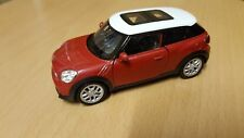 1:38 1/38 Diecast Mini Cooper Paceman Red / Orange Model Car