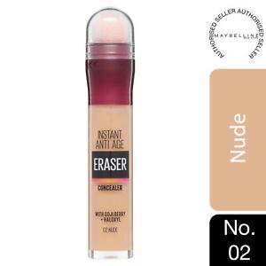 Maybelline Instant Age Rewind Anti Age Eraser Eye Concealer, 02 Nude