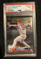 2018 Topps Chrome Update #HMT18 Jack Flaherty RC Rookie Mint PSA 9