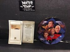 "Star Trek 1997 Hamilton Collection ""Captains Tribute-30 Years"" Porcelain Plate"