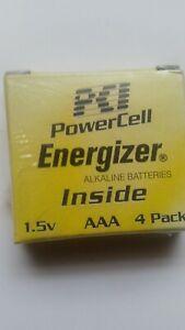 PCI Power Cell ENERGIZER  Alkaline Battery (AAA) .(4pk).. New* Get 20 Batteries