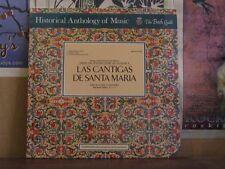 LAS CANTIGAS DE SANTA MARIA, JAFFEE - SEALED LP HM-87SD