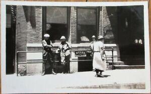 Aztec, NM 1910 AZO Realphoto Postcard - Stage Coach to Farmington, New Mexico