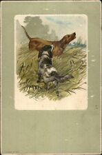Hunting Dogs Howling - Deikers c1910 Postcard
