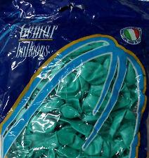 PALLONCINI TIFFANY VERDE ACQUA MARINA 50 Pz 13 cm diam 5 Pollici PARTY FESTA