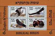Timbres Oiseaux Rapaces Aigles Israel BF28 ** lot 19808