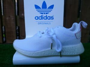 NMD R2_CNY UK8.5 BNWT WHITE/RED/GUM 80 s casuals 2016 VERY RARE LOOK