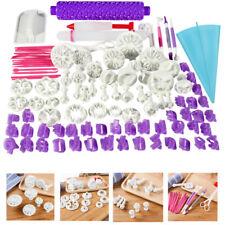 94pcs Fondant Sugarcraft Cake Decorating Icing Cutters for Baking Mold Tools Set