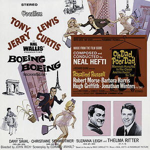 Neal Hefti - Oh Dad, Poor Dad (1967) & Boeing Boeing (1966) Film Soundtracks