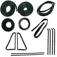 Weatherstrip Seal Kit 1964-66 Chevy GMC Truck with chrome style windshield seal