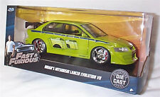 FAST & FURIOUS Brians Mitsubishi Lancer Evo V11 1/24 SCALE DIECAST OPENING Parts