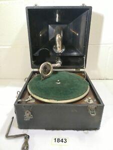 Apollo Roma Gramophone Vintage Antique Rare #1843