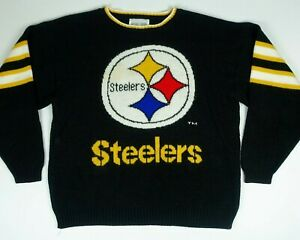 VIntage Michael Harris Pittsburgh Steelers Sweater Adult Large L