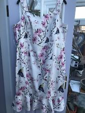 Size  22  Joe Browns   Cotton  Dress,  Immaculate Condition