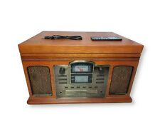 Crosley CR2405-PA CD Recorder 3-speed Turntable Cassette Player w/ Remote