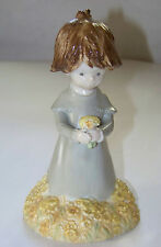 Enesco: KINKA - For You... Just Because - Girl w/ yellow flowers