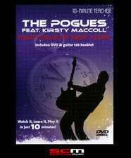10-MINUTE TEACHER GUITAR DVD TUTORIAL LEARN THE POGUES FAIRYTALE OF NEW YORK