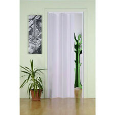 Porta porte a soffietto per nicchia in Pvc da interno misura regolabile completa