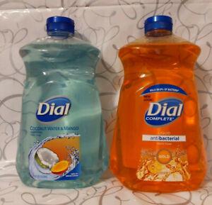 Dial Complete GOLD & Coconut WaterMango Liquid Hand Soap Refill, 52 fl oz each