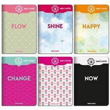 Hör dich happy - Shiny Notes A 6 / 6er-Pack / 6 Motive / mit Meditation