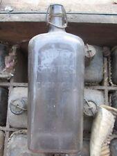U.S. Chemical Embalming Fluid Bottle 56 Oz.New York, Chicago Funeral Undertaker