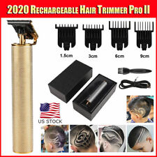 2020 Rechargeable Metal T-OUTLINER Cordless Trimmer Wireless Hair Clipper LC2227