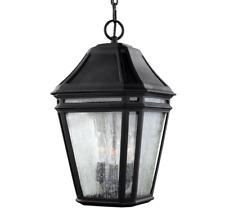 Murray Feiss OL11311BK Londontowne - 17.25 in. 3 Light Outdoor Pendant Black