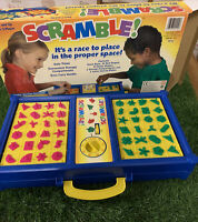 Scramble! & Junior Scramble by Hilco Matching Game Action Game 2003 USA