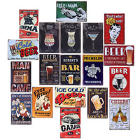Metal Sign Retro Tin Vintage Plaque Bar Club Wall Decorative Antiques Beer 20*30